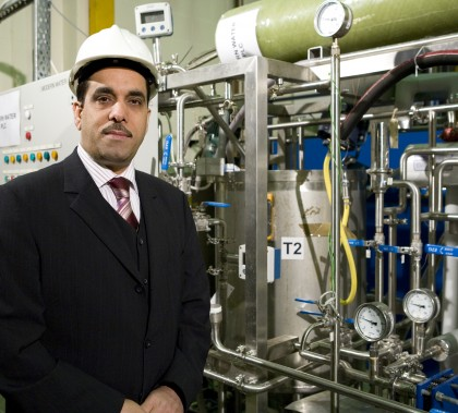 Adel Sharif, the research director of water security at the Qatar Foundation.
