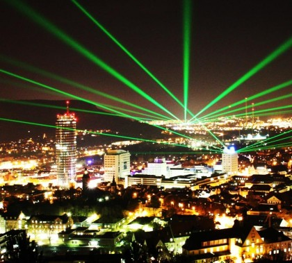 Jena, Germany (via laser-event.de)