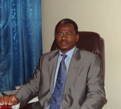 Sidi Ould Salem, the minister of higher education.