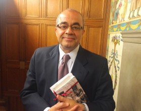 Emad El-Din Shahin, photo by Burton Bollag.