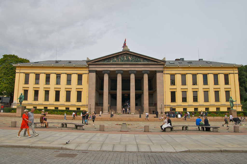 The University of Oslo helps refugees get a head start in the job market. (Flickr, Alexander Ottesen)