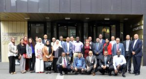 Sudanese researchers at London 2016 Diaspora Conference.