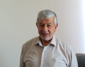 Obay Al-Dewachi, the president of Mosul University.