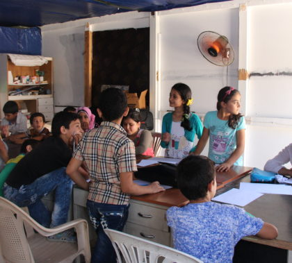 Only about half of the 500,000 Syrian children registered as refugees in Lebanon are in school, according to a 2016 report by Human Rights Watch.
