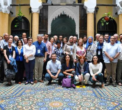 The research team during a conference at the American University in Cairo. Photo: Tarek Abd El-Galil .
