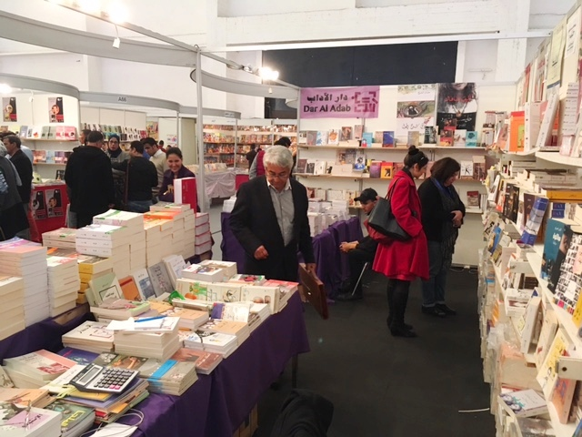This year Morocco's largest book fair focused on African literature. Photo by Ursula Lindsey