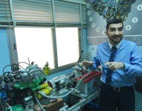 Fadi Al Halabi, director of MAPS, uses this motor as a metaphor for teamwork.