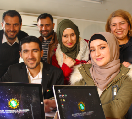 Students at a Jesuit World Learning program in Dohuk, Iraqi Kurdistan. Photo: Jesuit World Learning