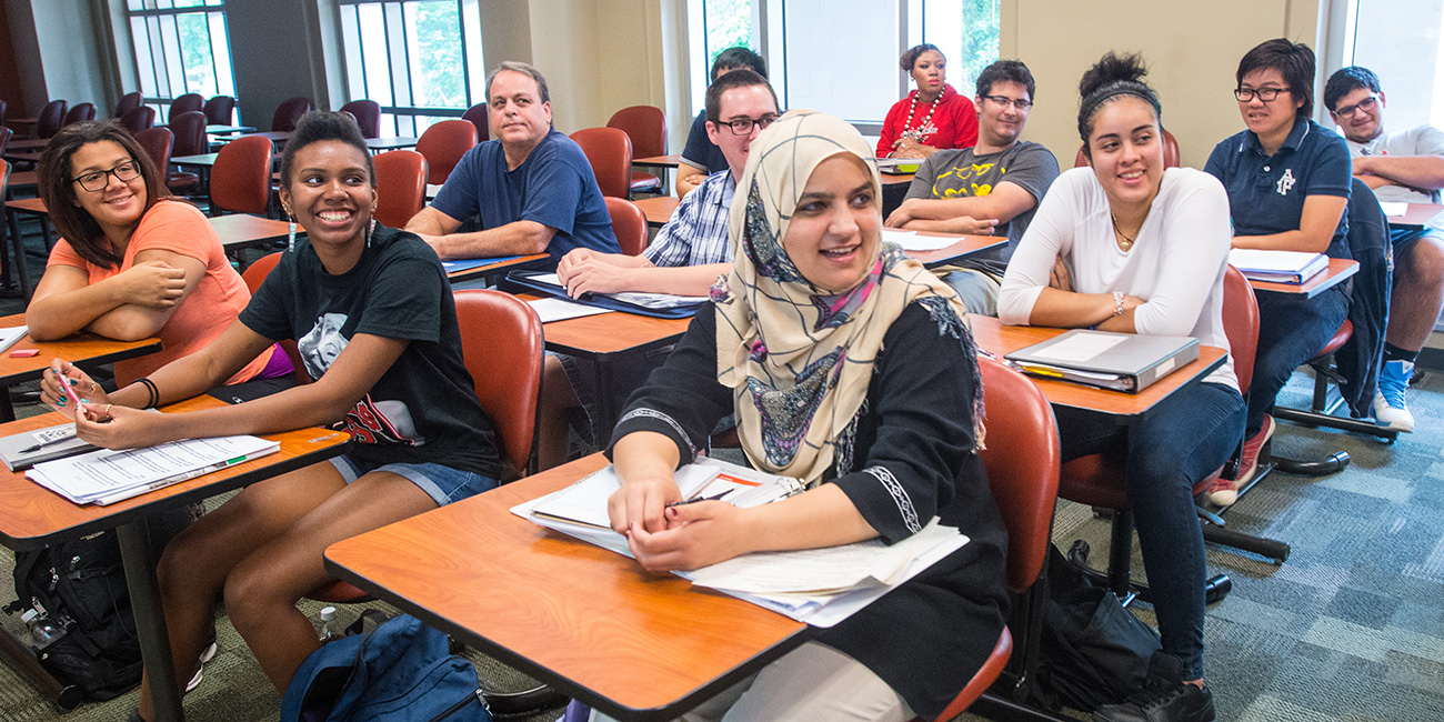 International students at Northern Virginia Community College
